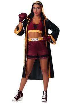 womens tough boxer costume