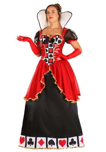 Supreme Queen of Hearts Costume for Women