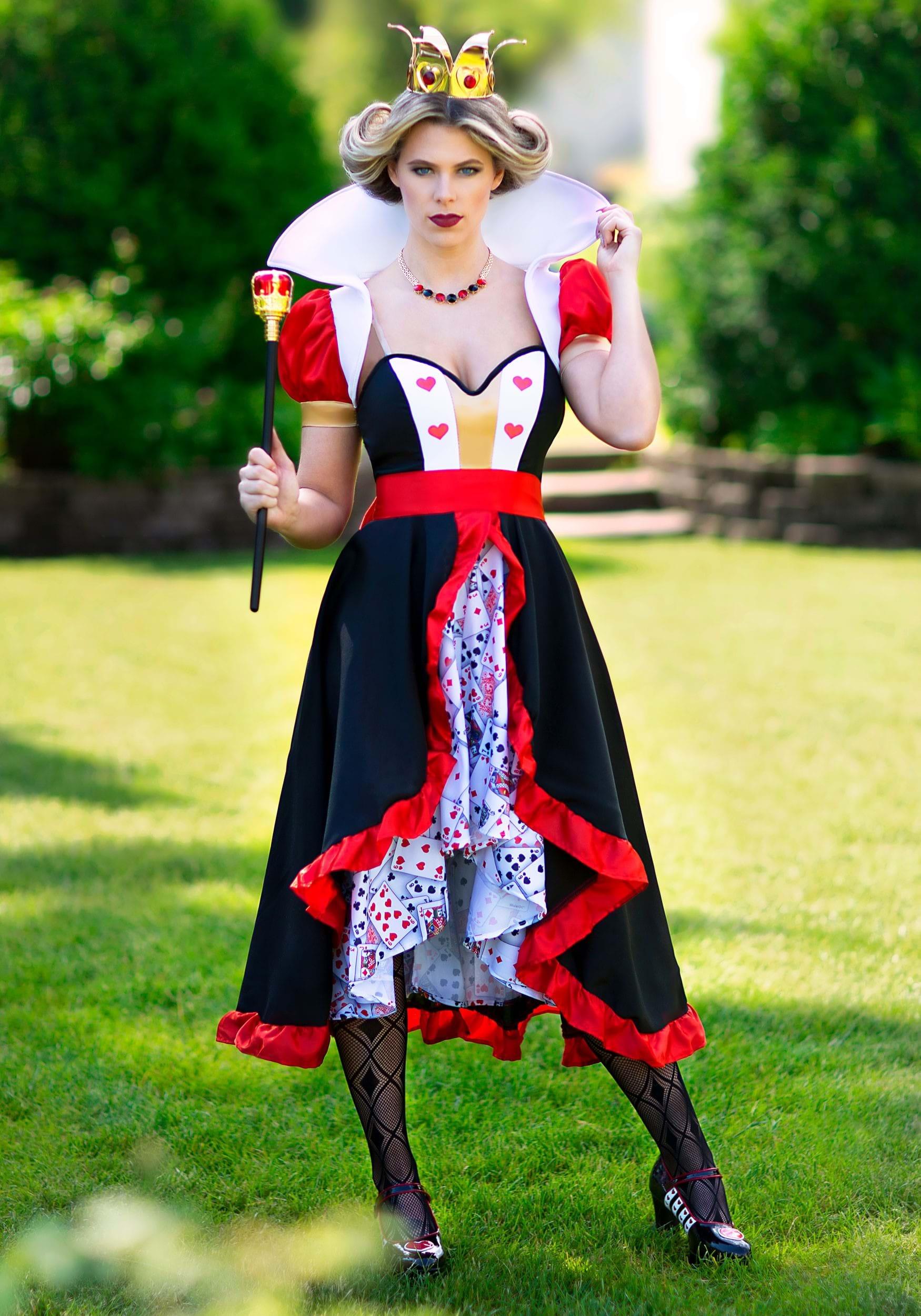 Women S Flirty Queen Of Hearts Costume