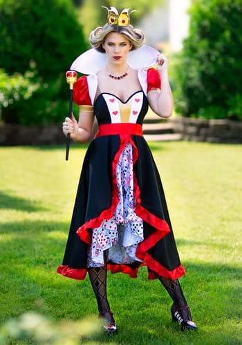 Women's Flirty Queen of Hearts Costume Update 1