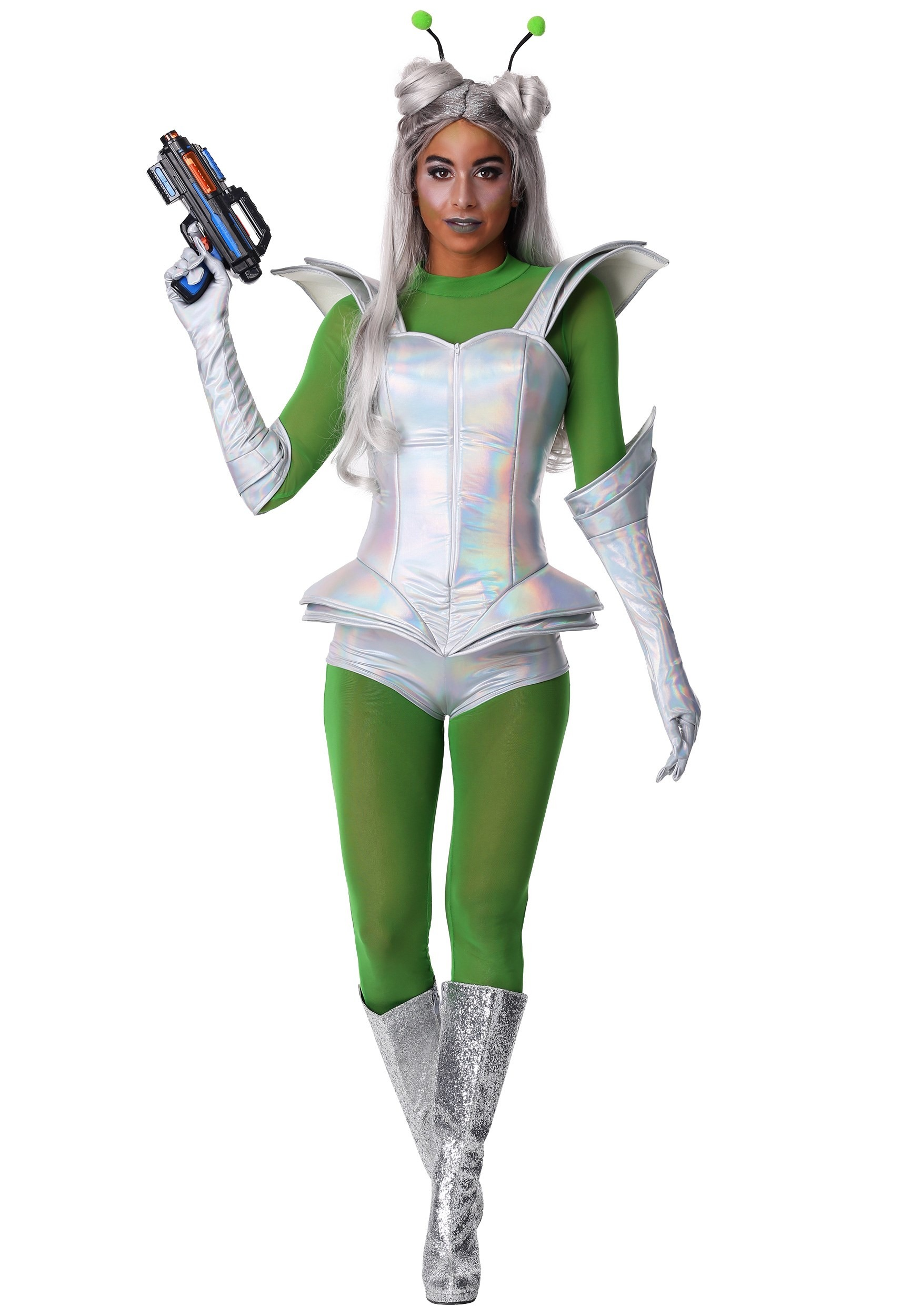 Galactic Alien Babe Costume for Women