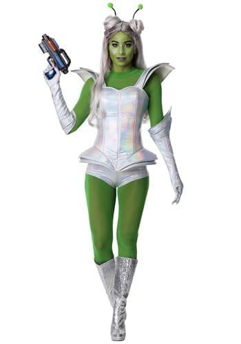 Women's Galactic Alien Babe-upd1