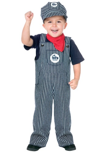 Toddler Train Engineer Costume