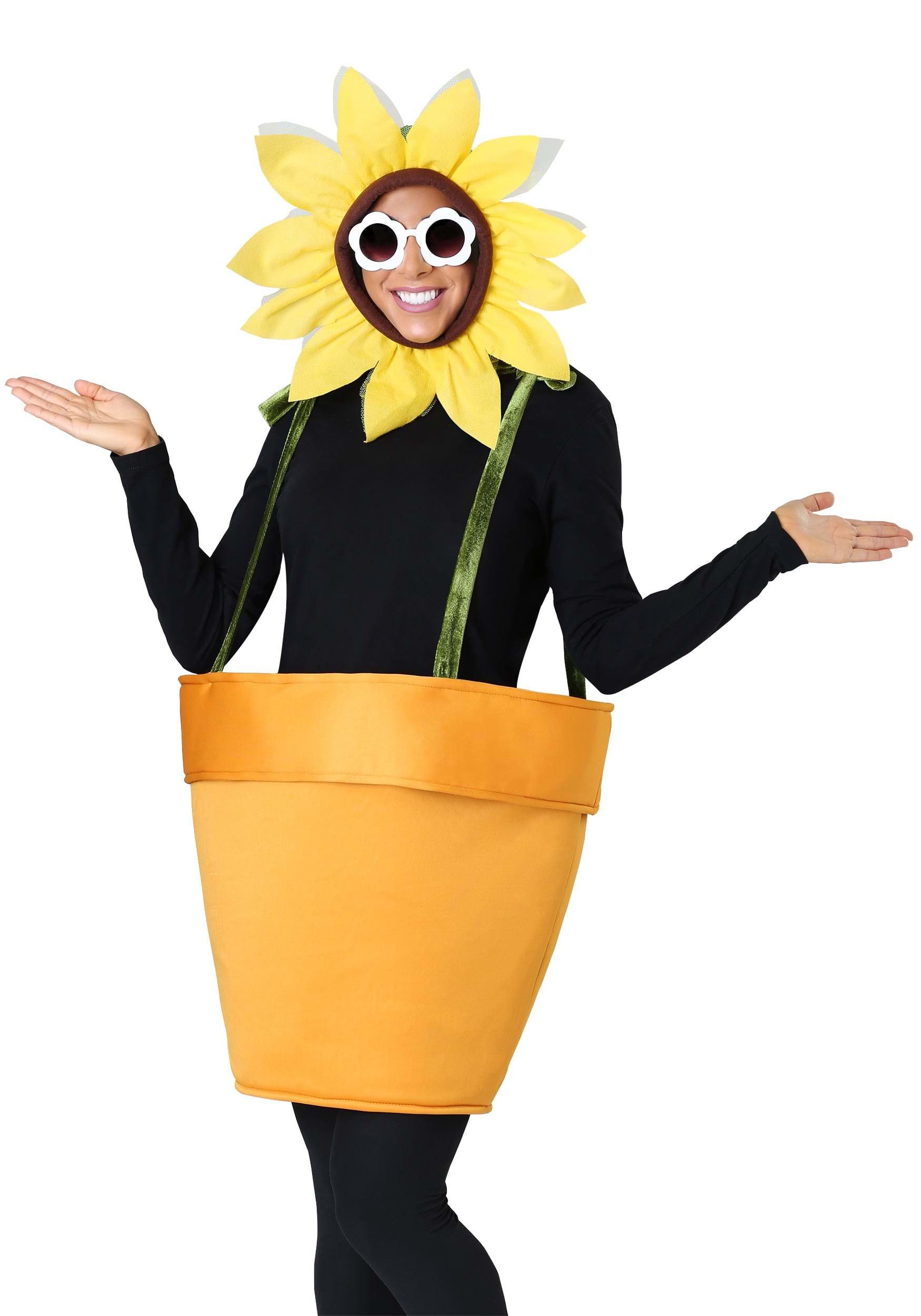 Adult flower halloween costumes photo
