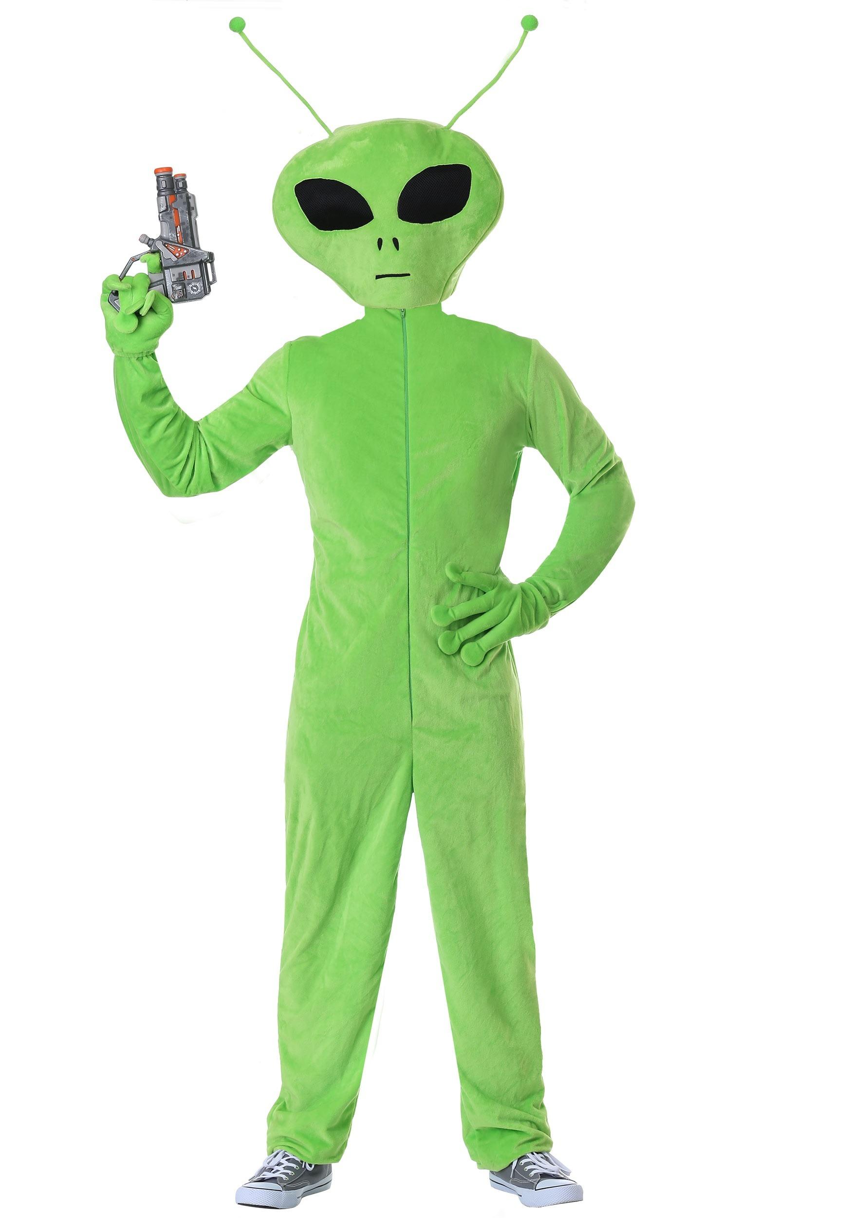 Space Alien Costumes For Adults Kids Halloweencostumescom