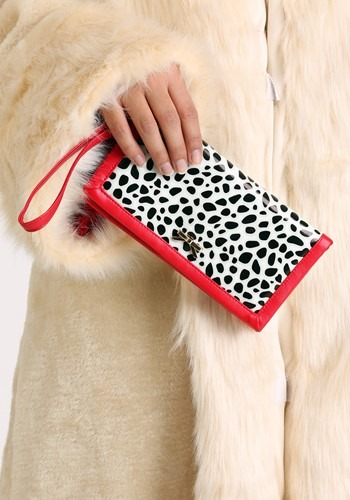 Pair the Women's Dalmatian Purse with a Cruella De Vil costume to complete your villainous look! #purse
