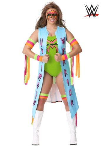 Women's Ultimate Warrior Costume