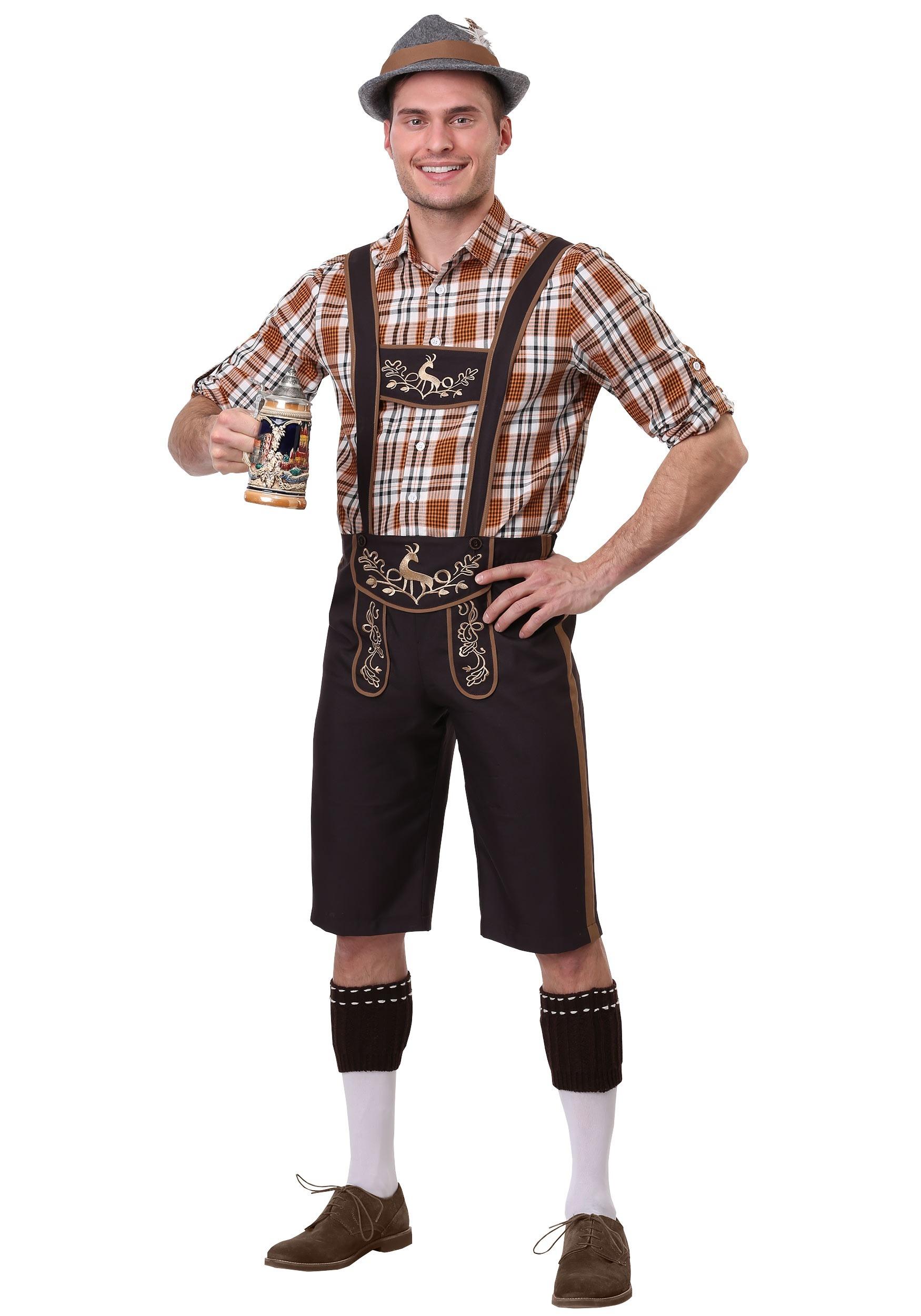 Men\u0027s Oktoberfest Stud Costume
