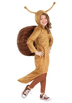 Girl's Snuggly Snail Costume new