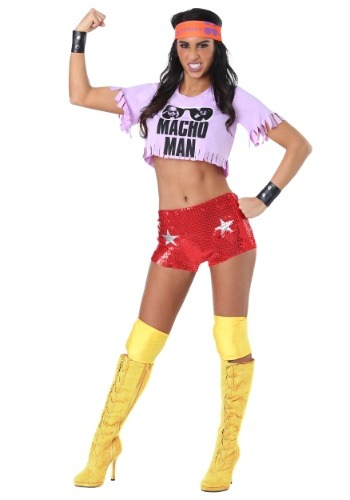 Click Here to buy Womens Macho Man Madness Costume from HalloweenCostumes, CDN Funds