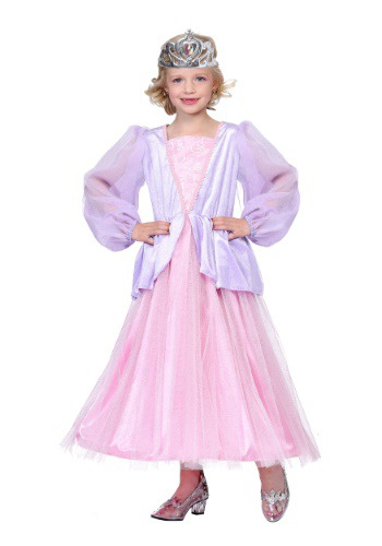 Click Here to buy Pink and Lavender Princess Girls Costume from HalloweenCostumes, CDN Funds