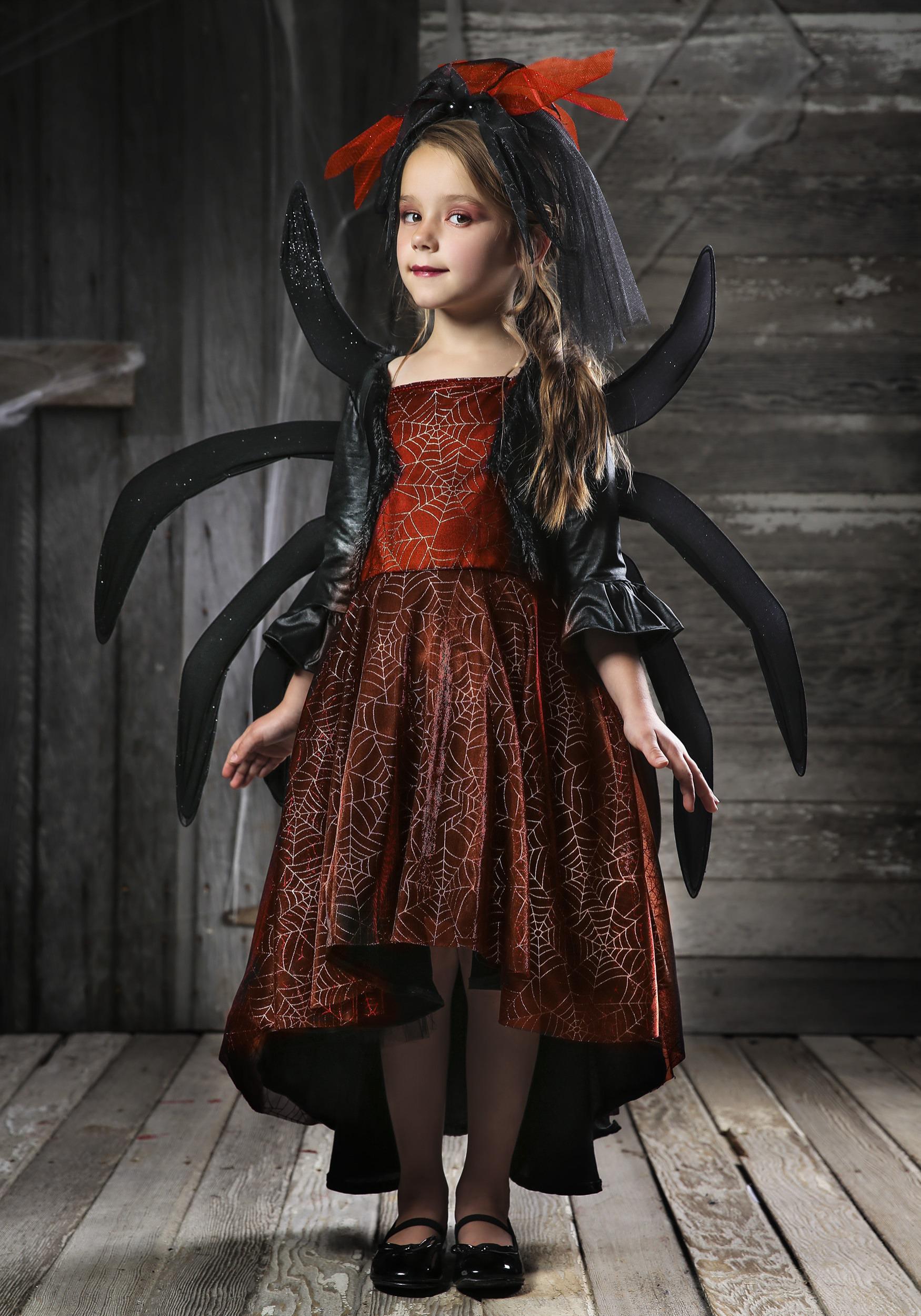 Girlu0027s Spooky Widow Dress Costume  sc 1 st  Halloween Costumes & Scary Kids Costumes - Scary Halloween Costume for Kids
