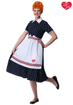 Womenu0027s I Love Lucy Lucy Costume  sc 1 st  Halloween Costumes : lucille ball costume for kids  - Germanpascual.Com