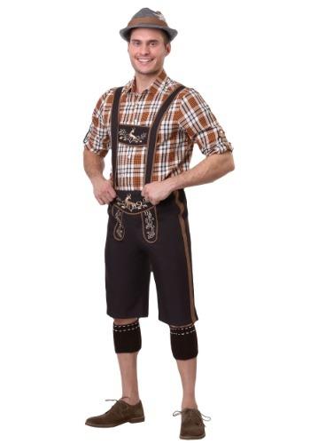 Mens Plus Size Oktoberfest Stud Costume
