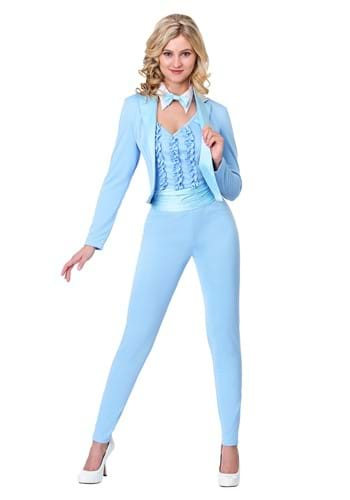Click Here to buy Adult Costume Female Blue Tuxedo from HalloweenCostumes, CDN Funds