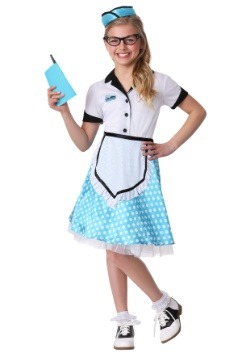 Kid's 1950's Diner Darling Costume