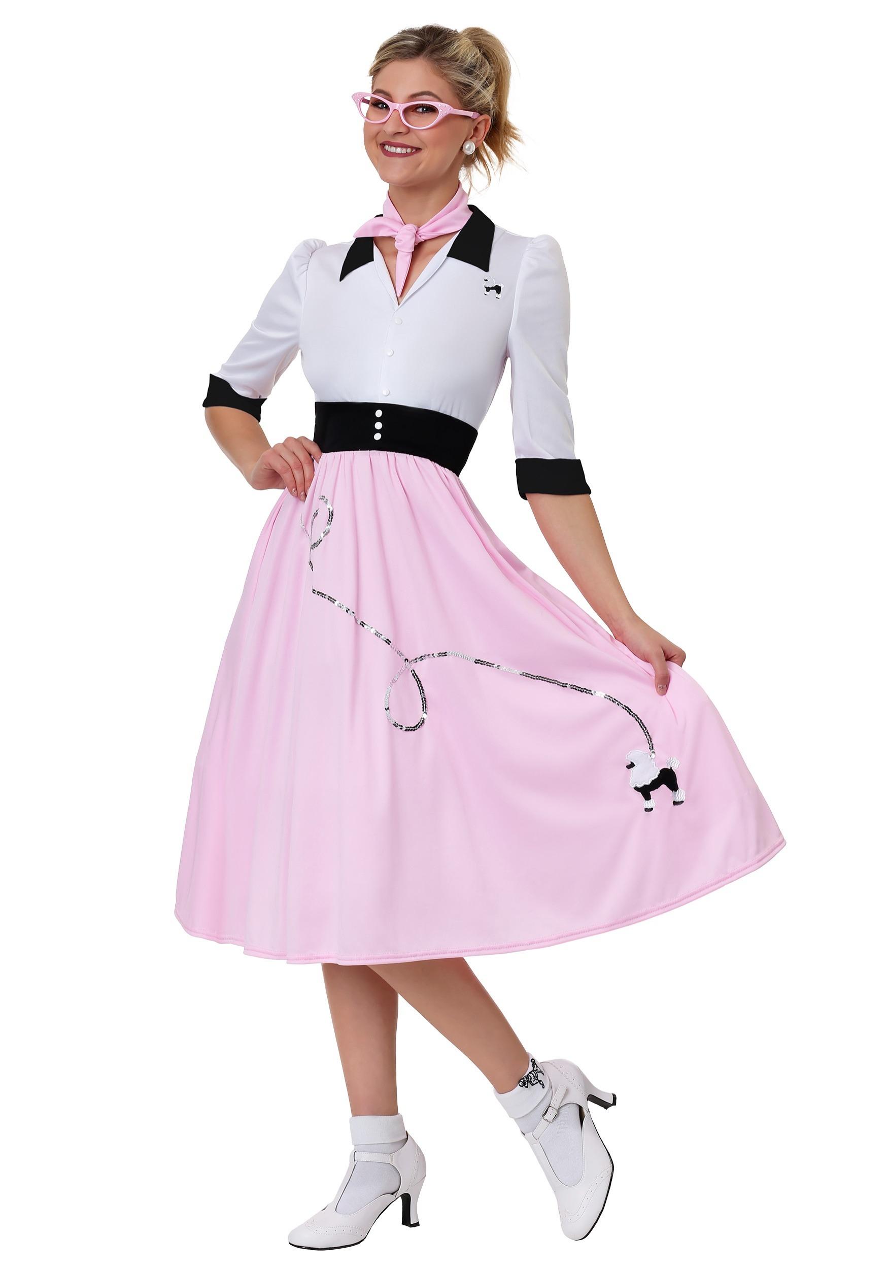 da8d0a4e9d15a Sock Hop Sweetheart Costume for Women