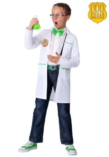 ODD SQUAD Child Scientist Costume