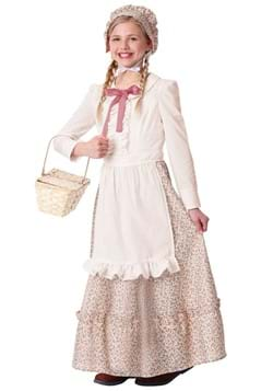 Prairie Pioneer Girls Costume