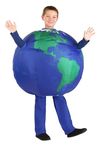 Kids Inflatable Earth Costume