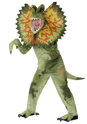 Click Here to buy Dilophosaurus Costume for an Adult from HalloweenCostumes, CDN Funds