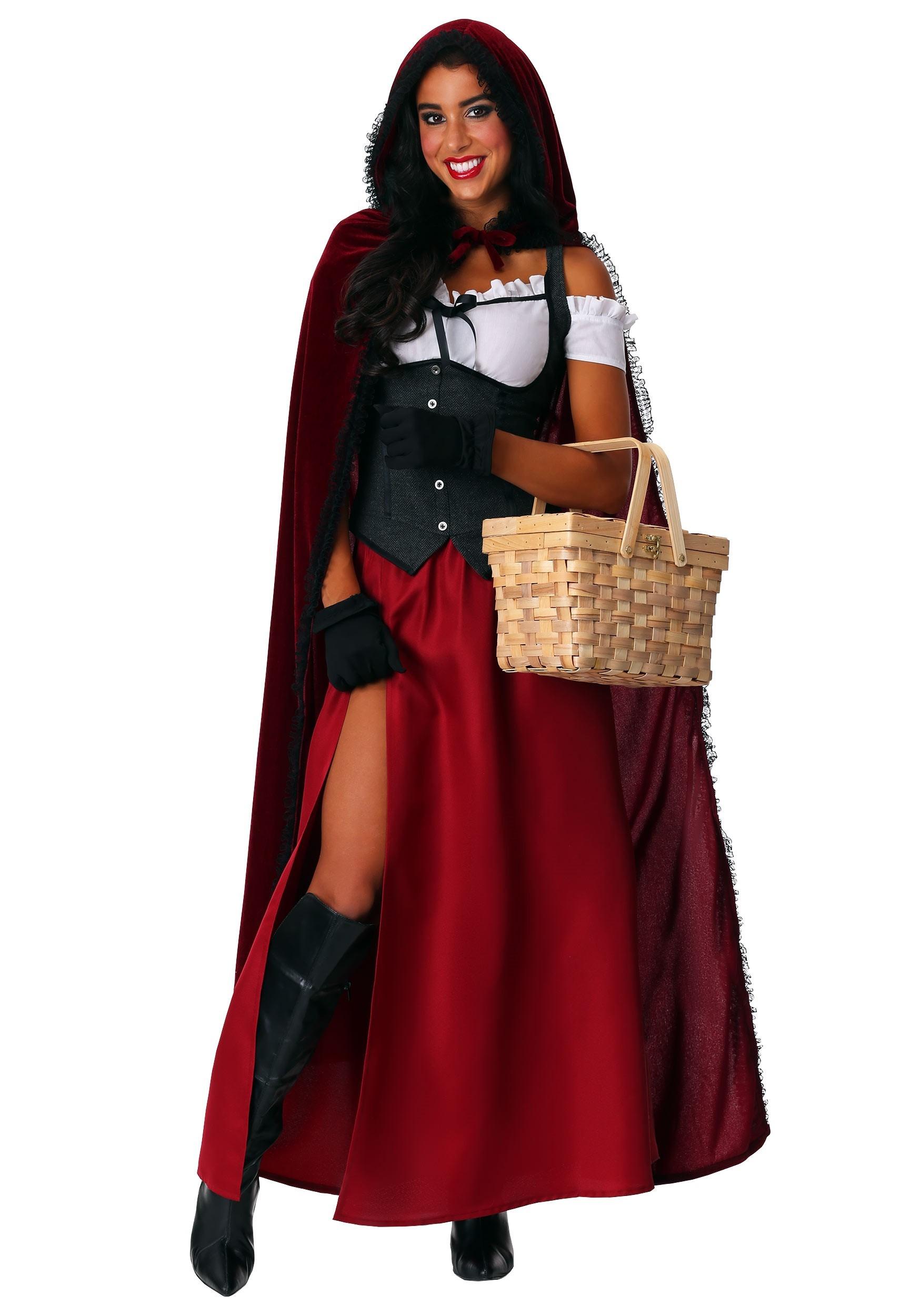 Womens Ravishing Red Riding Hood Costume