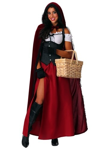 Ravishing Red Riding Hood Women's Costume