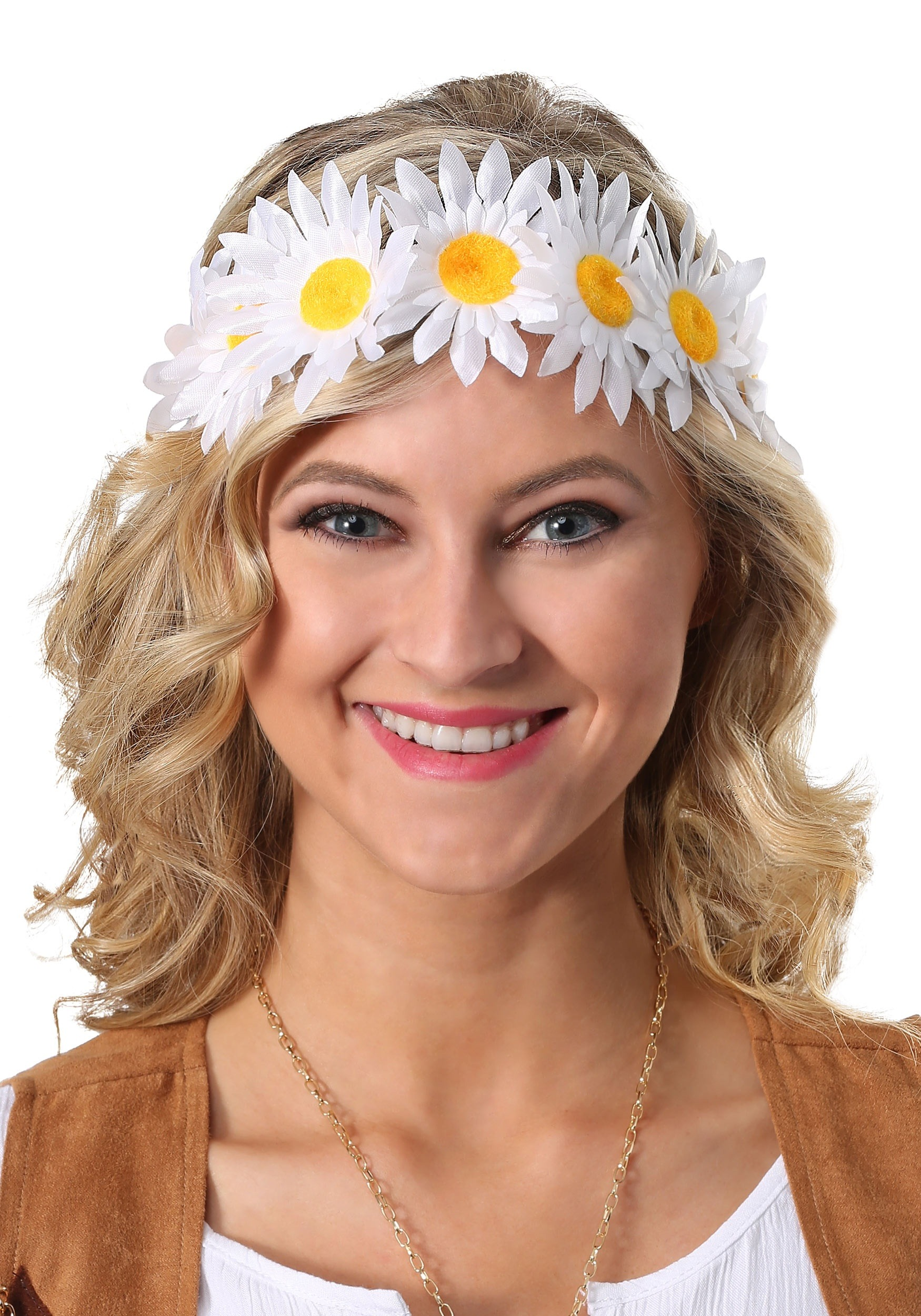 Daisy Flower Crown for Women 13530cae12b
