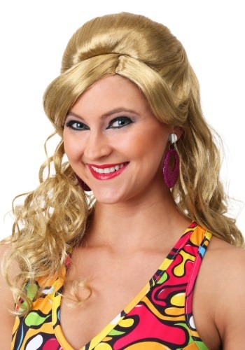 Click Here to buy 60s Gogo Mod Wig-Blonde from HalloweenCostumes, CDN Funds