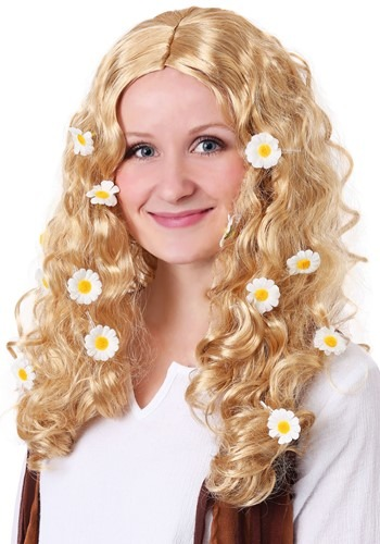 Women's Flower Power Wig