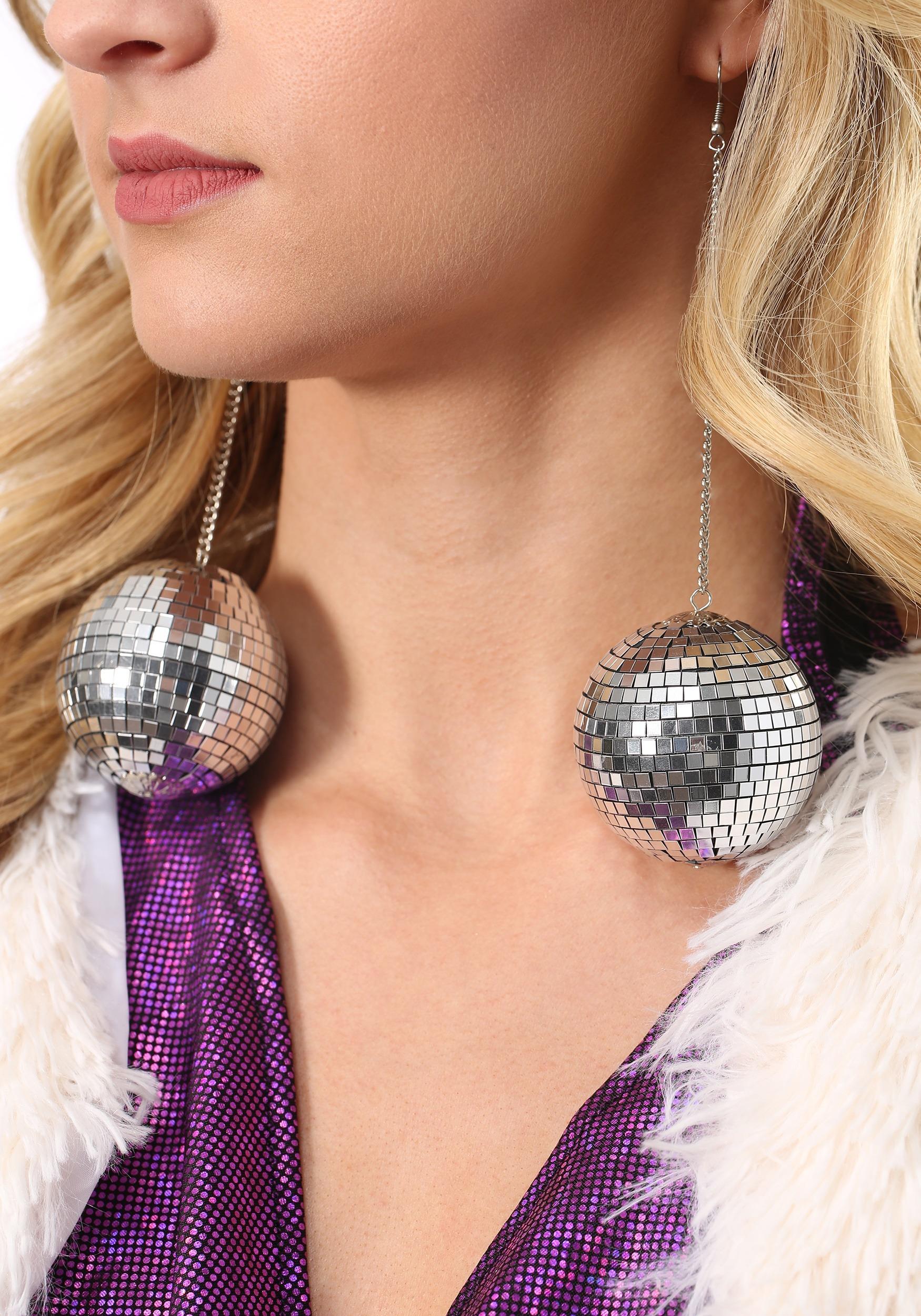 1960s Mod Disco Ball Earrings Update Main