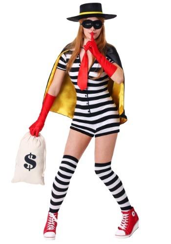 Women's Burglar Costume