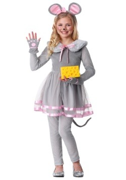 Girl's Cute Mouse Costume
