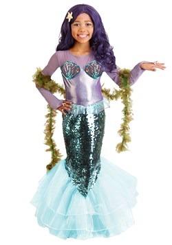 Pretty Purple Mermaid Child's Costume 1