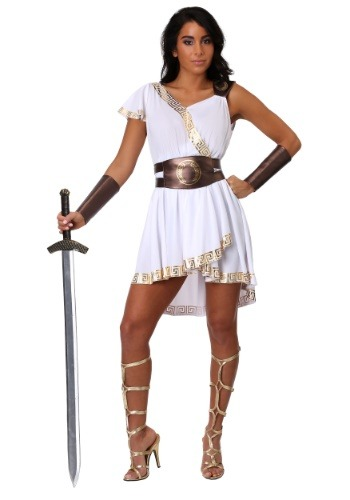 Women's Olympian Warrior Costume