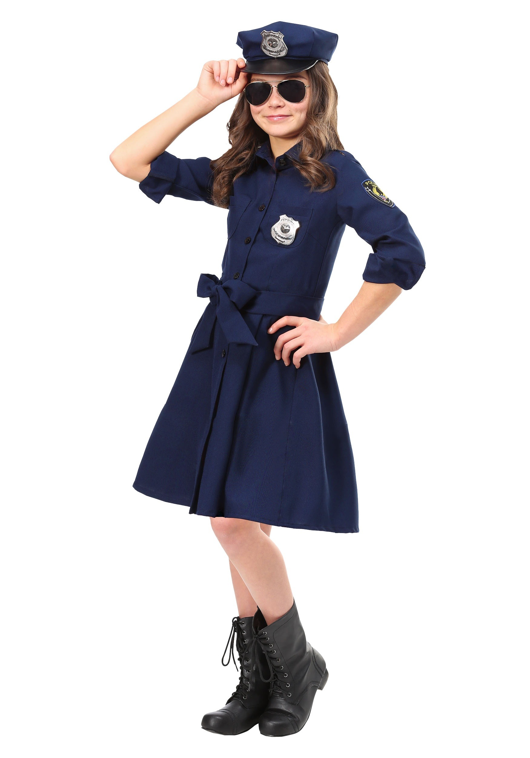 09a8d6b245b Girl's Helpful Police Officer Costume