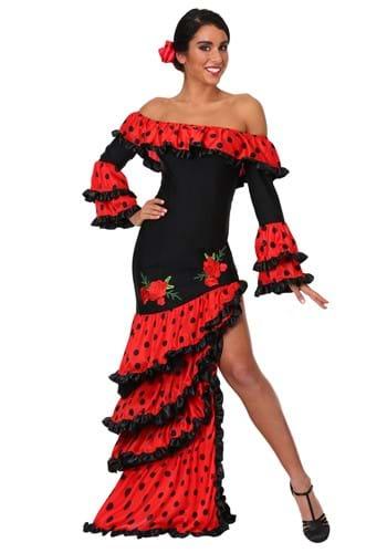 Womens Spanish Senorita Costume