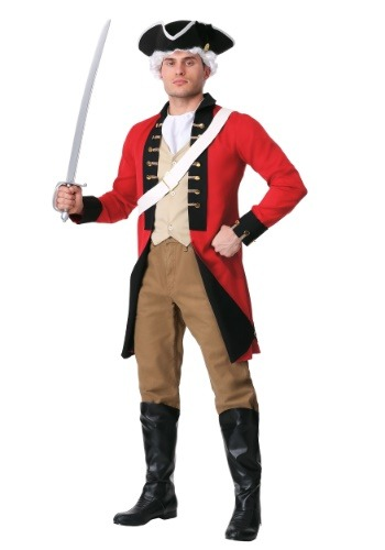 Adult British Redcoat Costume