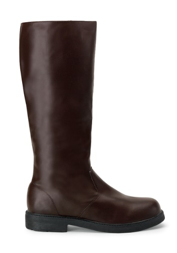 Adult Brown Costume Boots