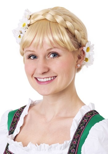German Beer Girl Wig