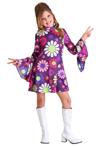 Childs Far Out Hippie Costume