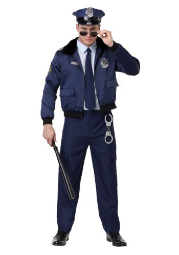DELUXE BLUE COP COSTUME FOR ADULTS