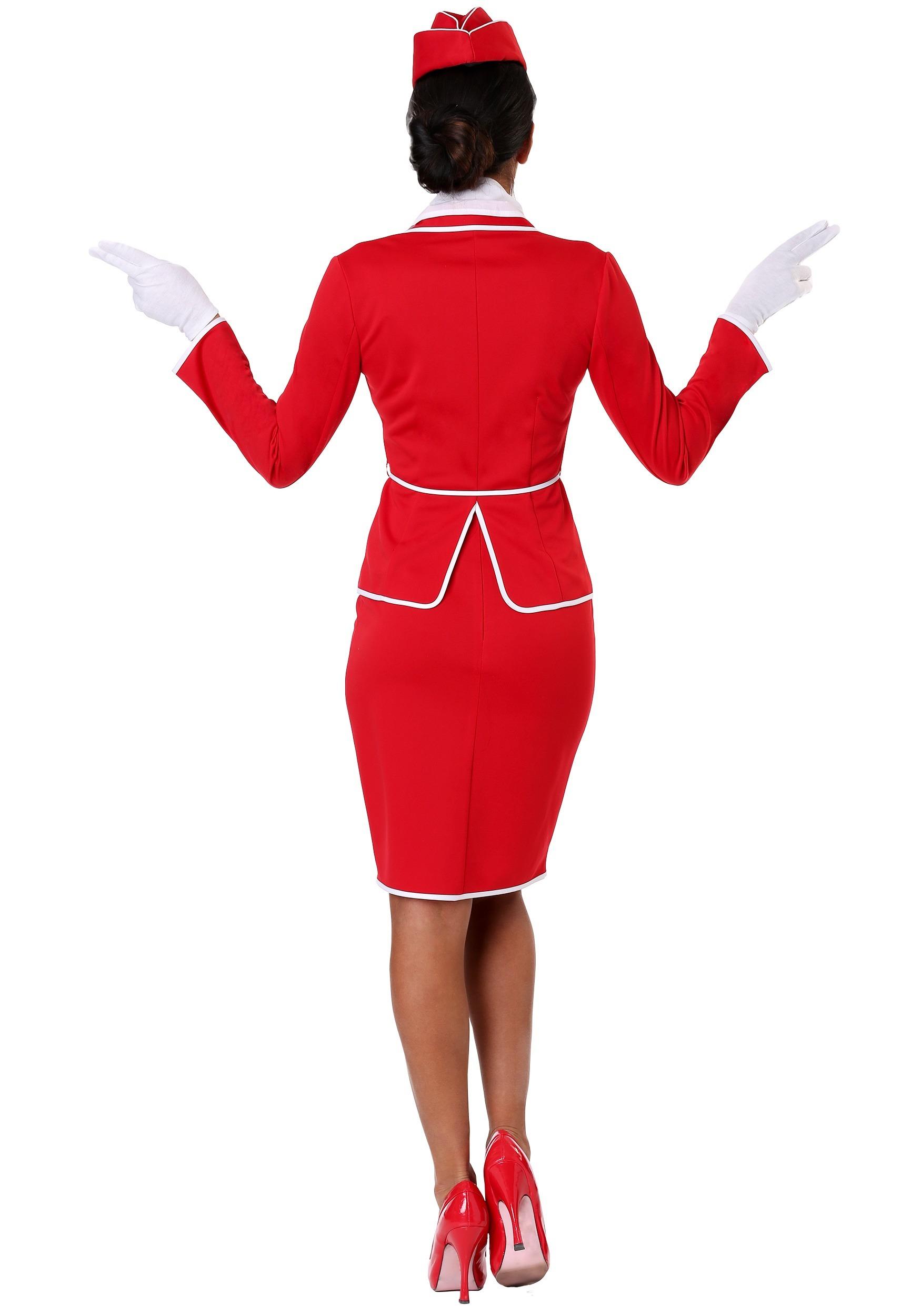 9cf4f5af81f Women's First Class Flight Attendant Costume