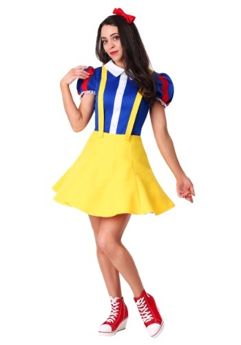 Click Here to buy Womens Hip Snow White Costume from HalloweenCostumes, CDN Funds