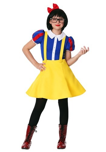 Click Here to buy Tween Hipster Snow White Costume from HalloweenCostumes, CDN Funds