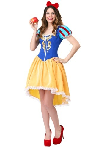 Women's Plus Ravishing Snow White Costume