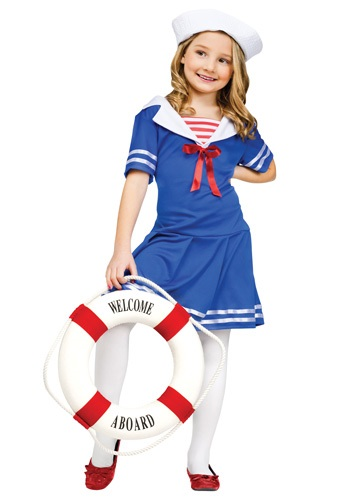 Girls Sweet Sailor Costume By: Fun World for the 2015 Costume season.