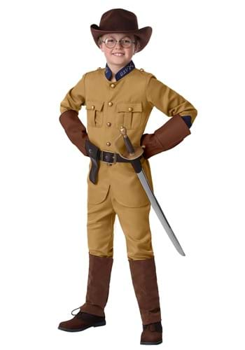 Boy's Teddy Roosevelt Costume