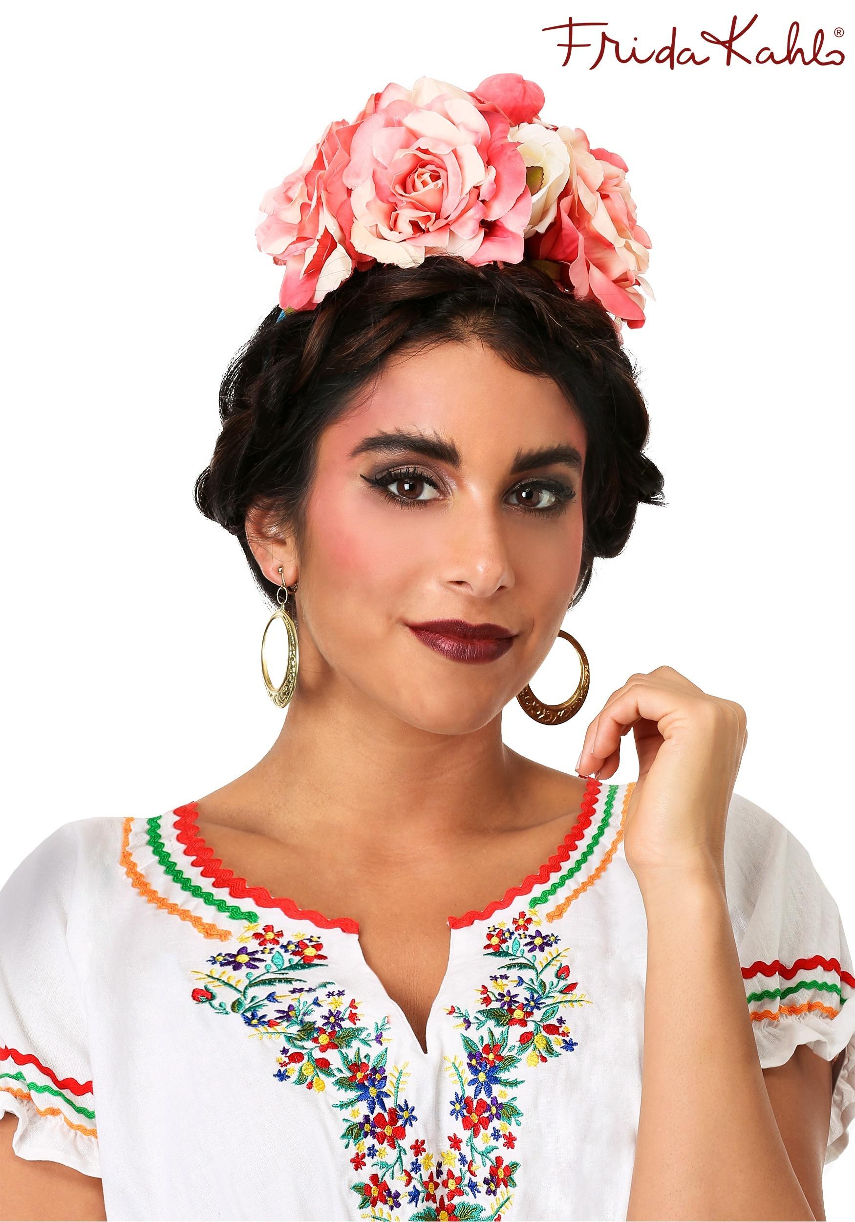Frida Kahlo Flower Adult Headband