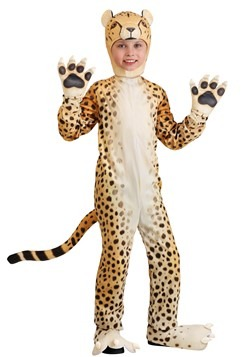 Child Cheerful Cheetah Costume